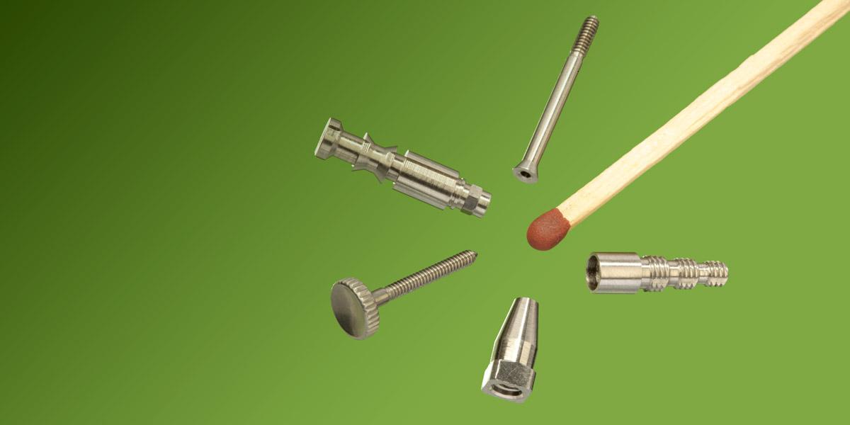 Produkte mit kleinen Durchmessern präzise produziert
